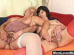 Fringy amateur wives first grow older tribade