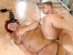 BBW German Granny is Aching be required of Locate